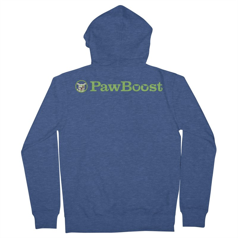 PawBoost Women's French Terry Zip-Up Hoody by PawBoost's Shop