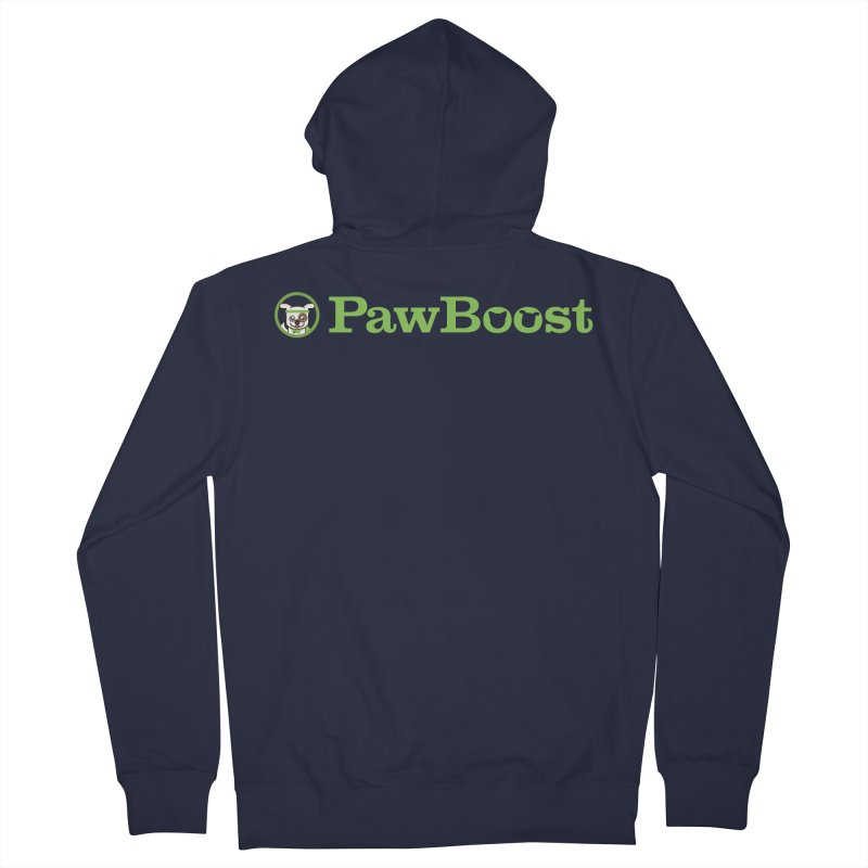 PawBoost Men's French Terry Zip-Up Hoody by PawBoost's Shop