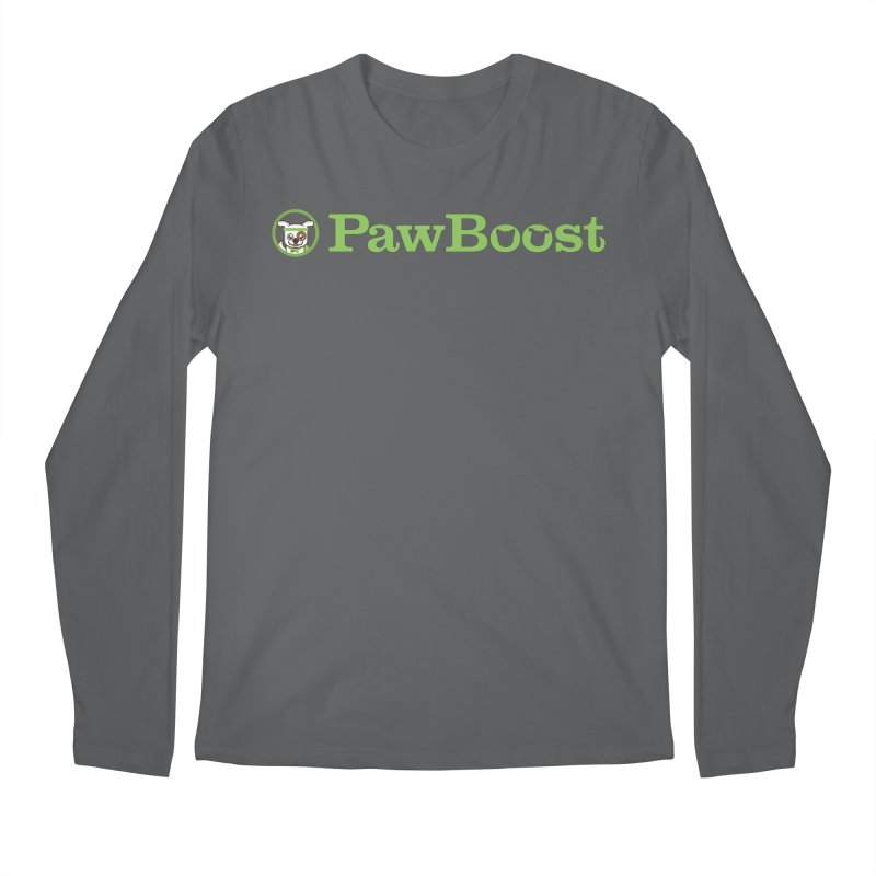 PawBoost Men's Regular Longsleeve T-Shirt by PawBoost's Shop