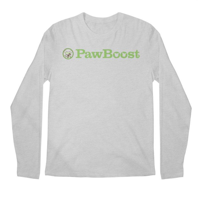 PawBoost Men's Regular Longsleeve T-Shirt by PawBoost's Shop