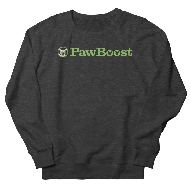 PawBoost Women's French Terry Sweatshirt by PawBoost's Shop