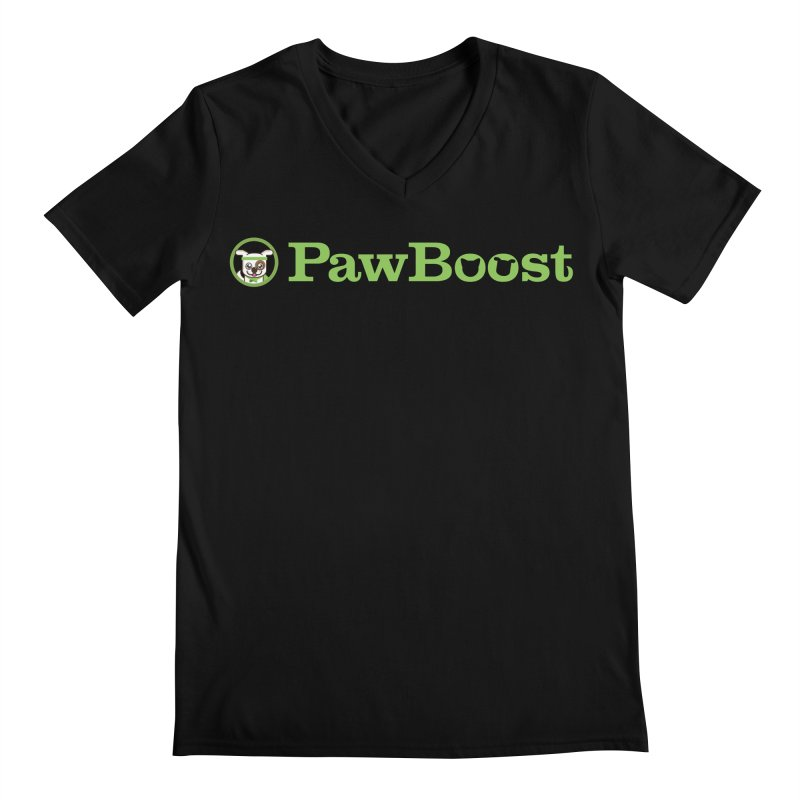 PawBoost Men's Regular V-Neck by PawBoost's Shop