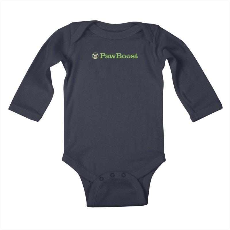 PawBoost Kids Baby Longsleeve Bodysuit by PawBoost's Shop