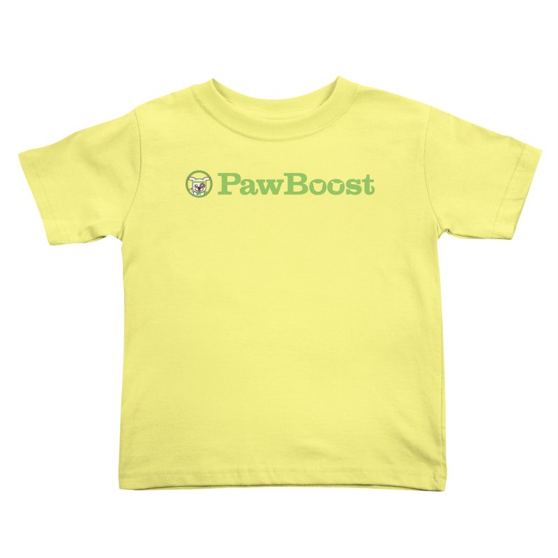 PawBoost Kids Toddler T-Shirt by PawBoost's Shop