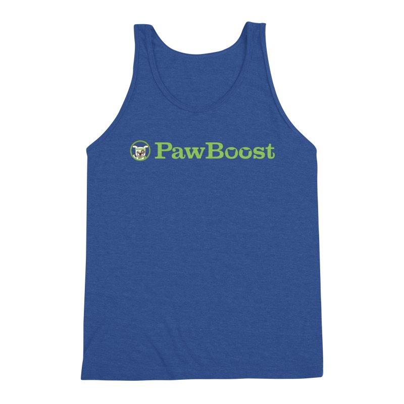 PawBoost Men's Triblend Tank by PawBoost's Shop