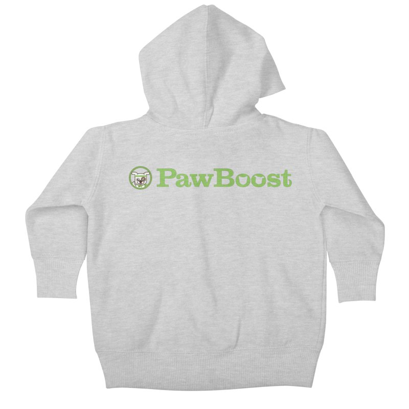 PawBoost Kids Baby Zip-Up Hoody by PawBoost's Shop