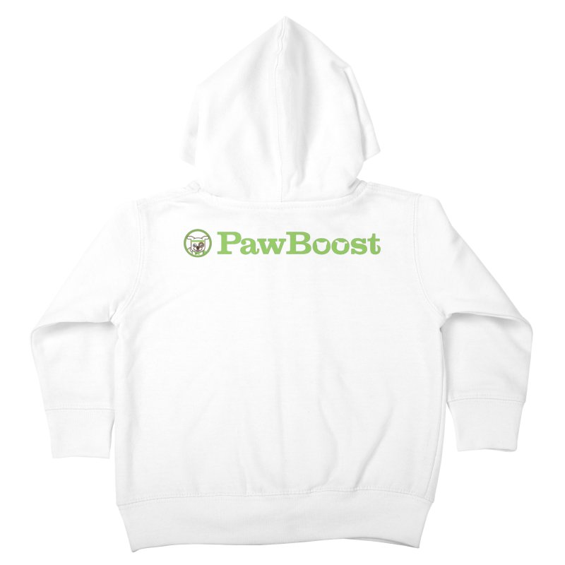 PawBoost Kids Toddler Zip-Up Hoody by PawBoost's Shop