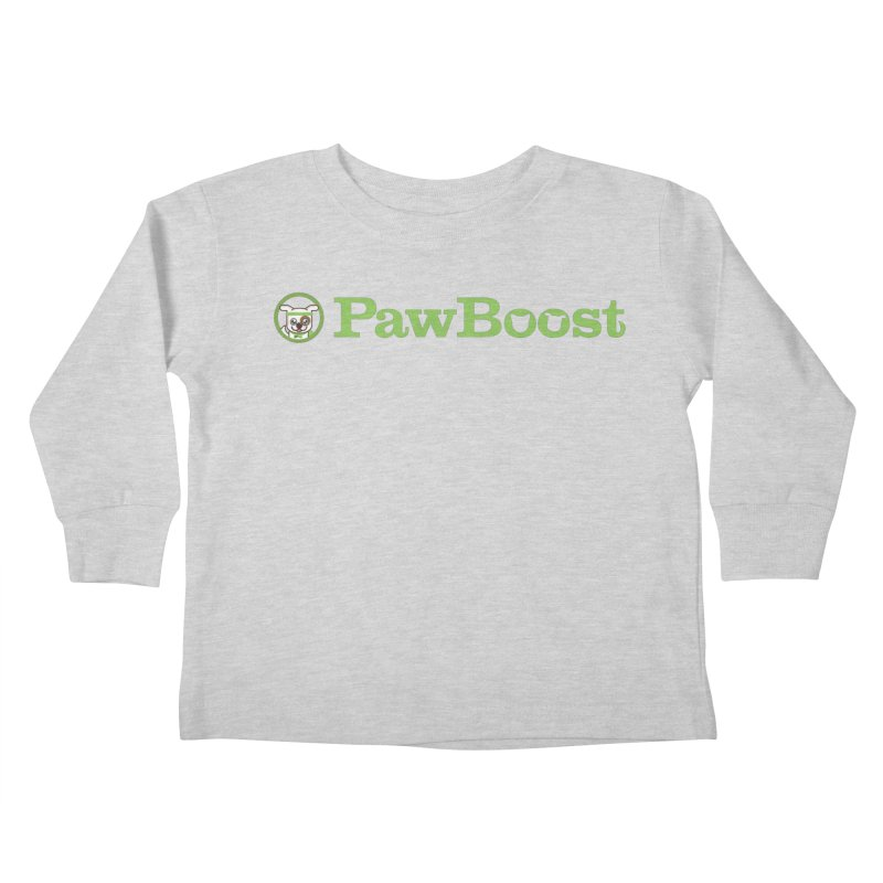 PawBoost Kids Toddler Longsleeve T-Shirt by PawBoost's Shop