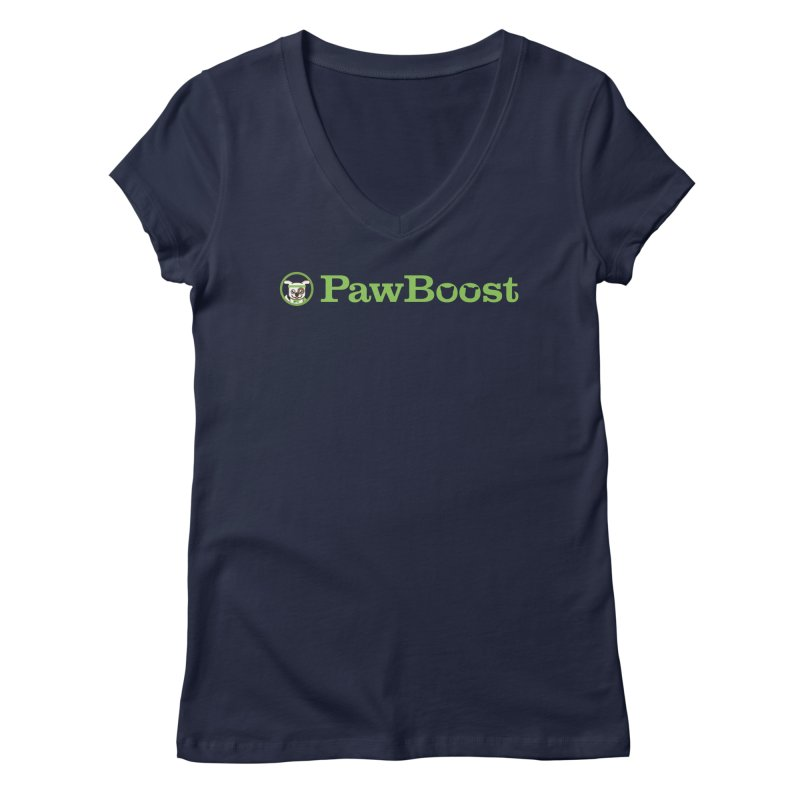 PawBoost Women's Regular V-Neck by PawBoost's Shop