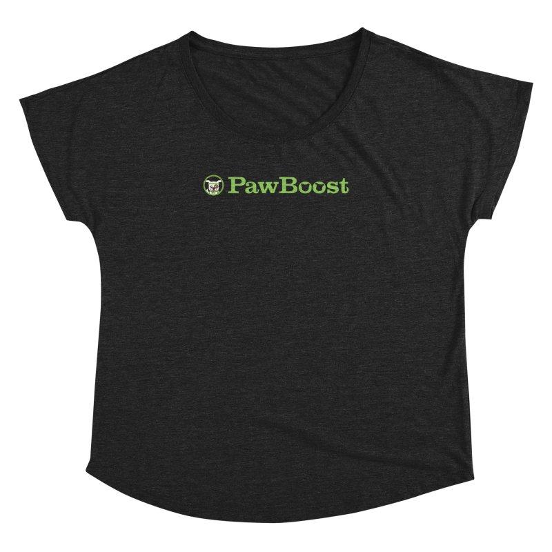 PawBoost Women's Dolman Scoop Neck by PawBoost's Shop