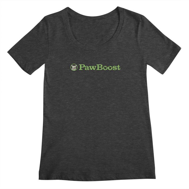 PawBoost Women's Scoopneck by PawBoost's Shop