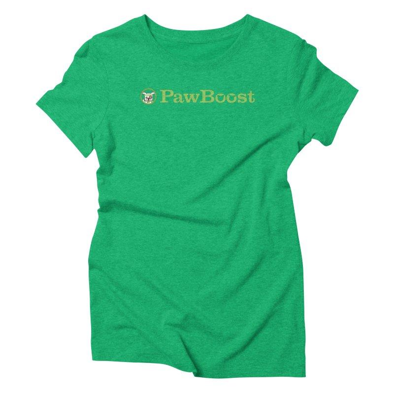 PawBoost Women's Triblend T-Shirt by PawBoost's Shop