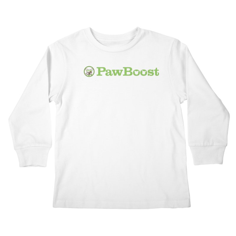PawBoost Kids Longsleeve T-Shirt by PawBoost's Shop