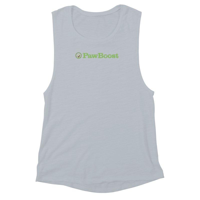 PawBoost Women's Muscle Tank by PawBoost's Shop