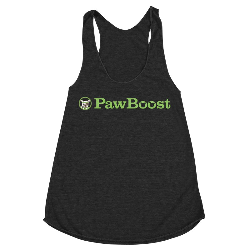 PawBoost Women's Racerback Triblend Tank by PawBoost's Shop