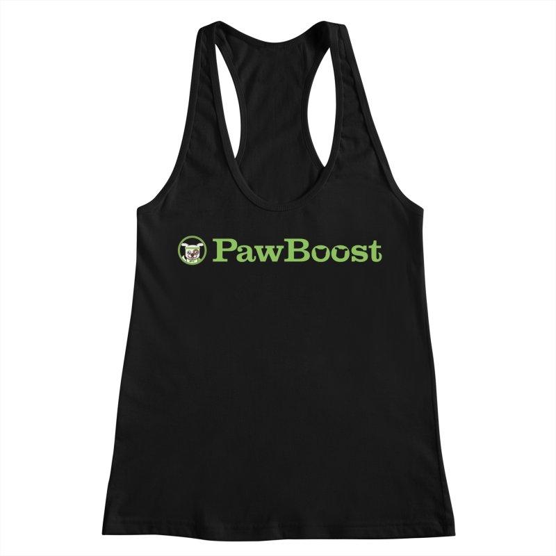 PawBoost Women's Racerback Tank by PawBoost's Shop