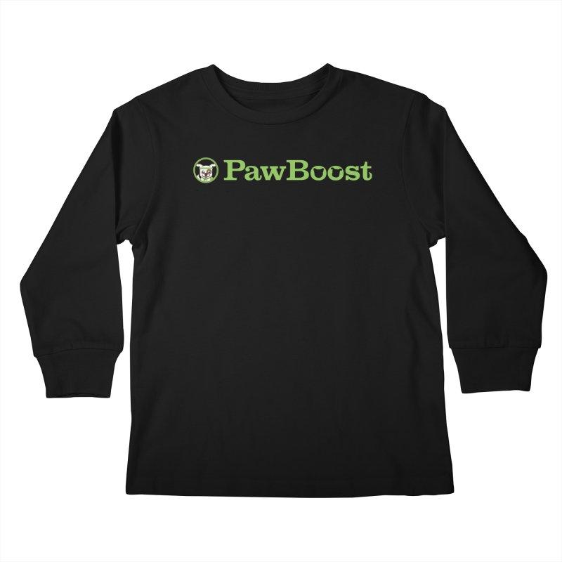 PawBoost Kids Longsleeve T-Shirt by PawBoost's Shop