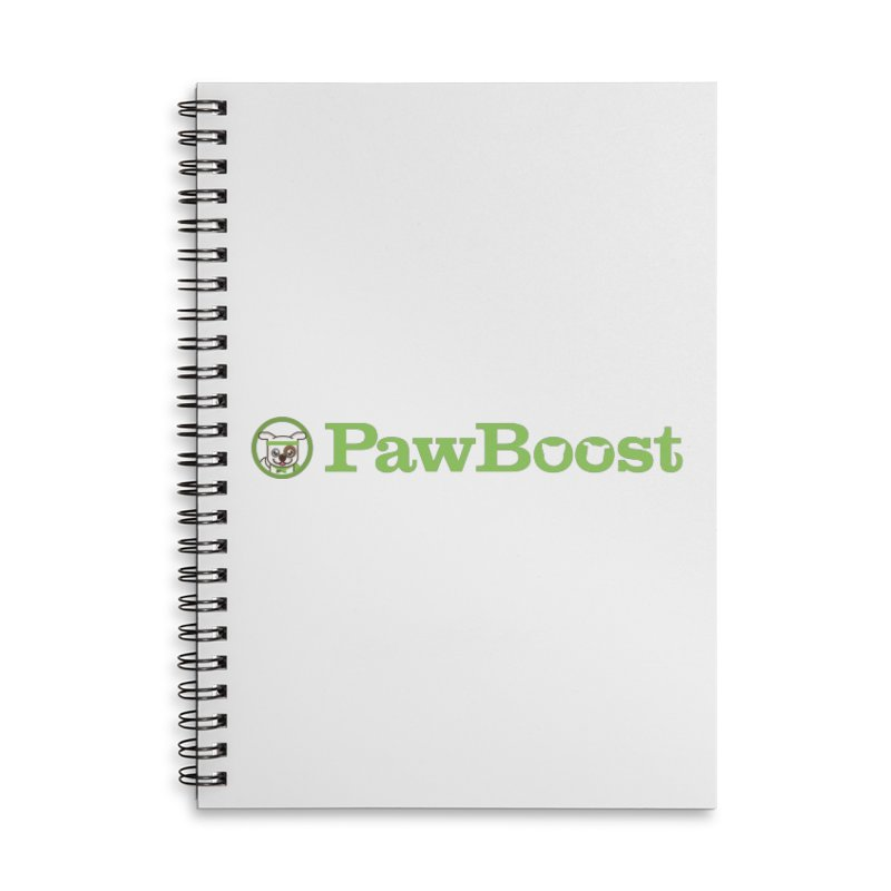 PawBoost Accessories Lined Spiral Notebook by PawBoost's Shop