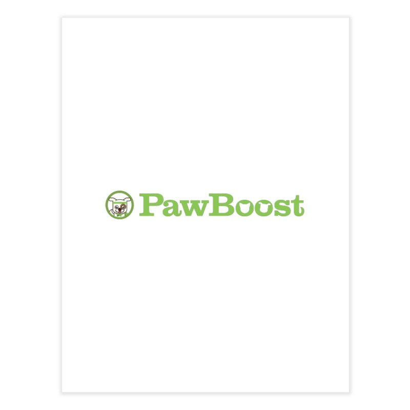 PawBoost Home Fine Art Print by PawBoost's Shop