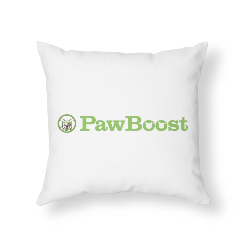 PawBoost Home Throw Pillow by PawBoost's Shop