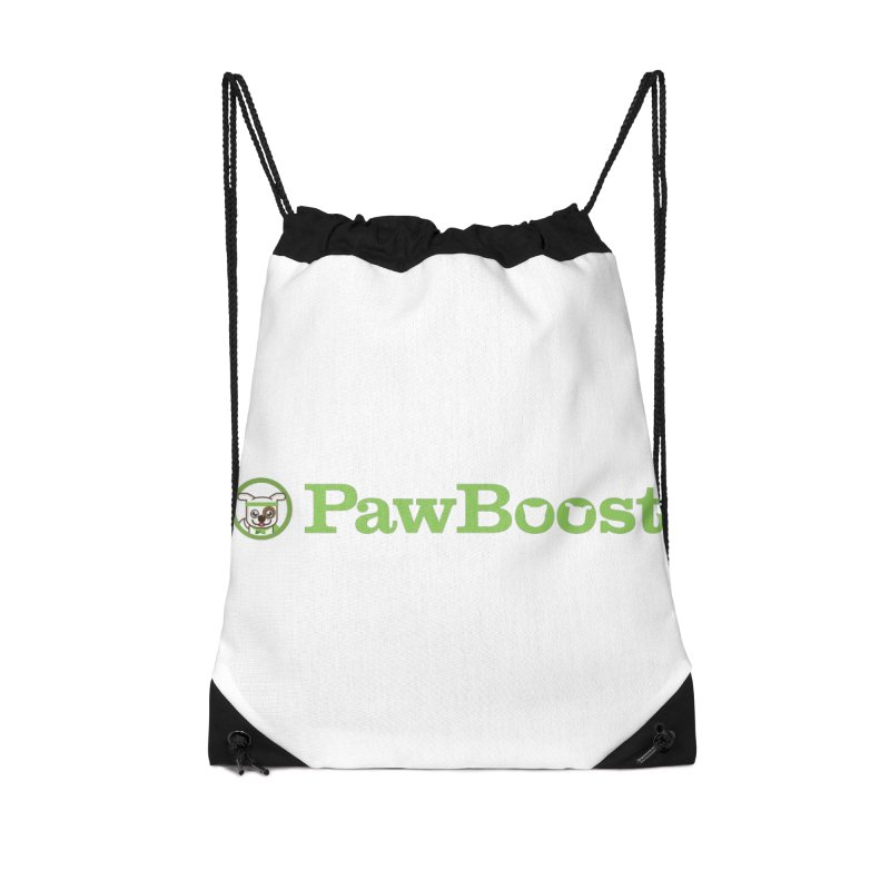 PawBoost Accessories Drawstring Bag Bag by PawBoost's Shop