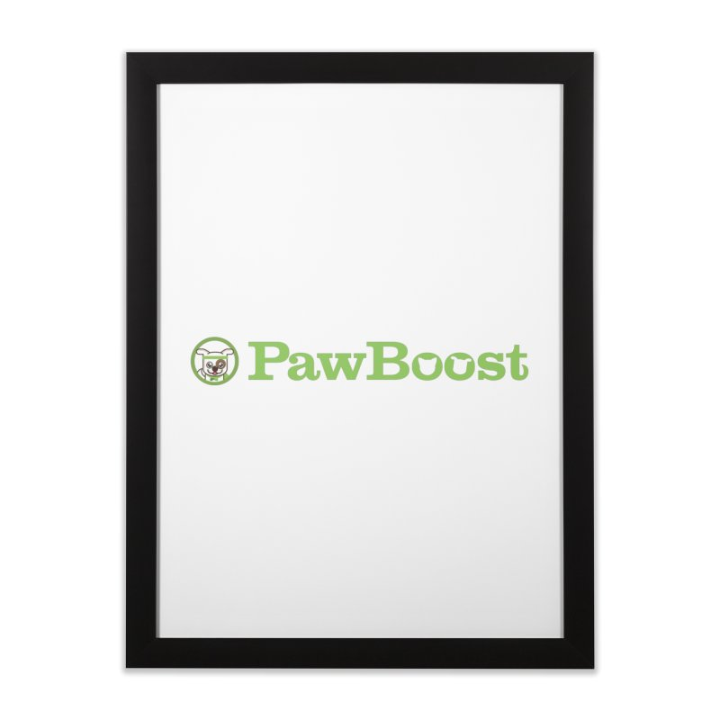 PawBoost Home Framed Fine Art Print by PawBoost's Shop