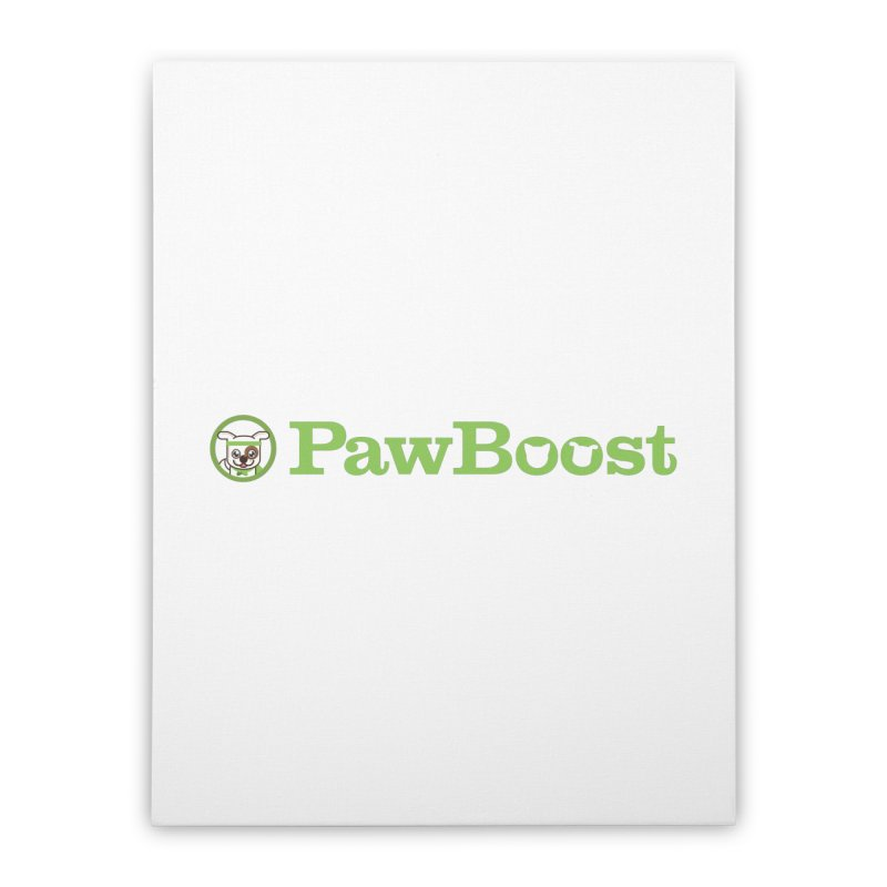 PawBoost Home Stretched Canvas by PawBoost's Shop