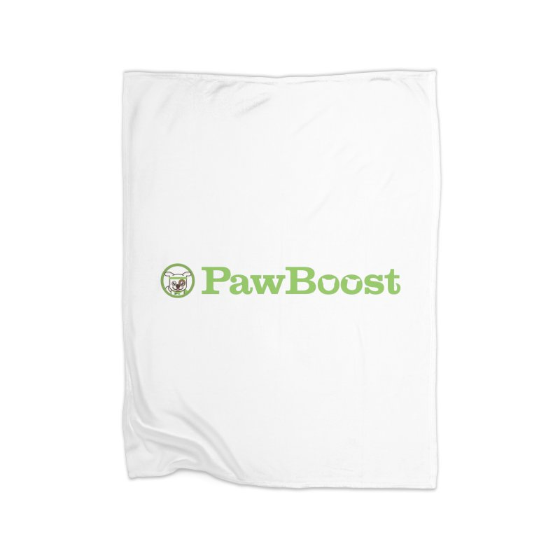 PawBoost Home Fleece Blanket Blanket by PawBoost's Shop