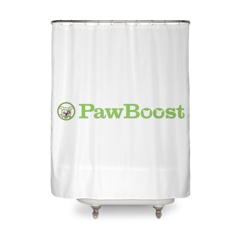 PawBoost Home Shower Curtain by PawBoost's Shop