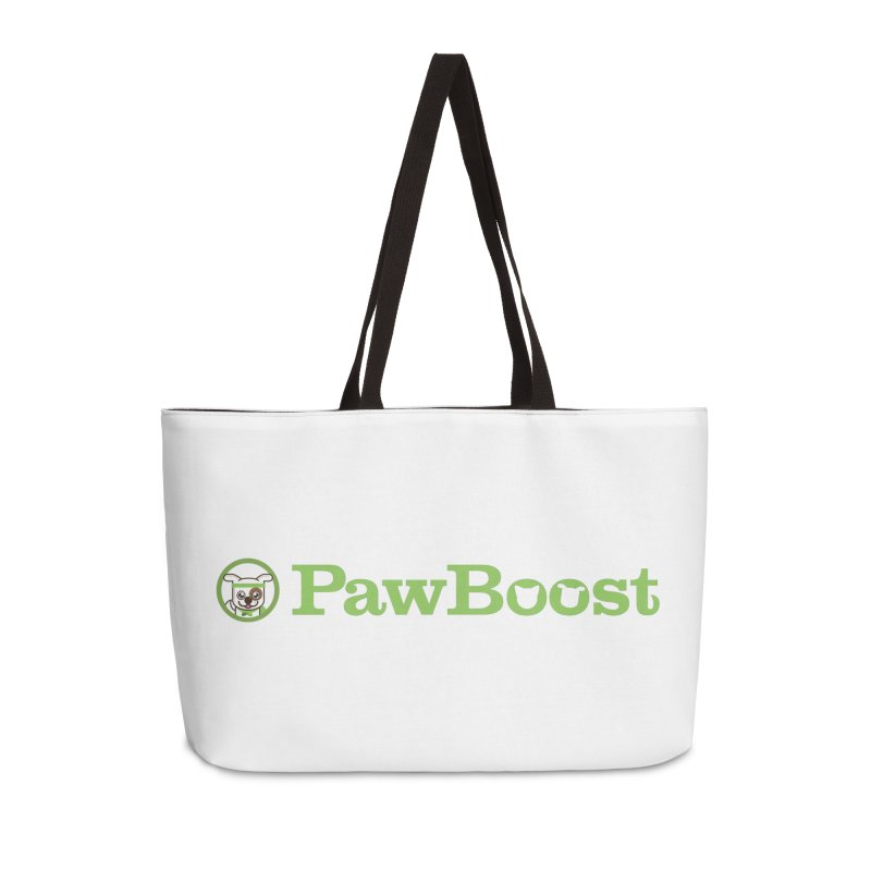 PawBoost Accessories Weekender Bag Bag by PawBoost's Shop