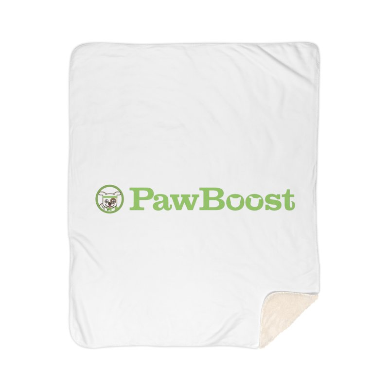 PawBoost Home Sherpa Blanket Blanket by PawBoost's Shop