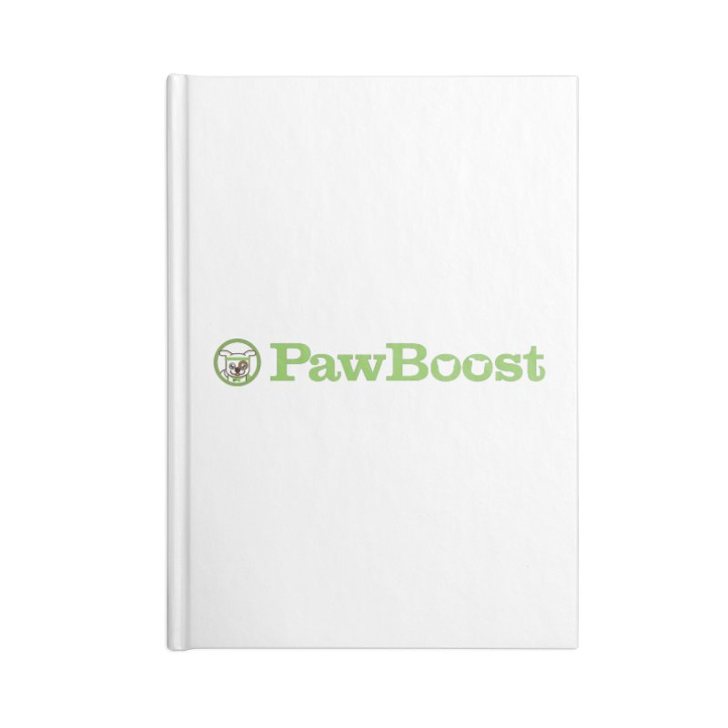 PawBoost Accessories Blank Journal Notebook by PawBoost's Shop