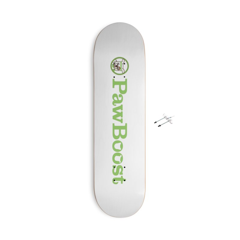 PawBoost Accessories With Hanging Hardware Skateboard by PawBoost's Shop