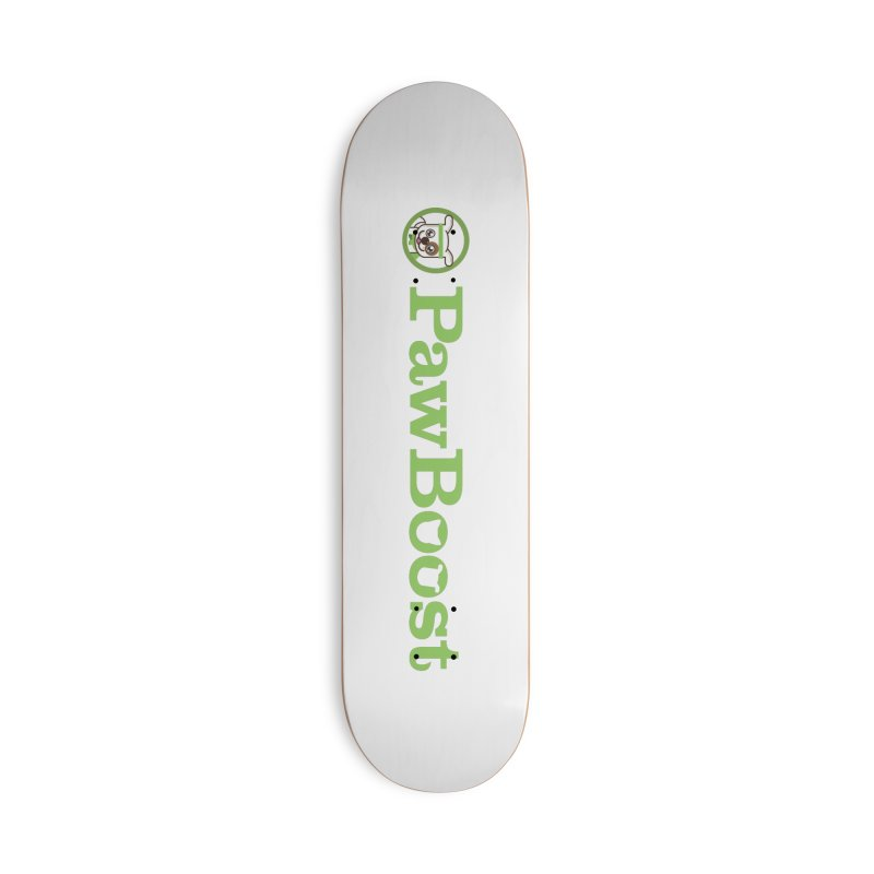 PawBoost Accessories Deck Only Skateboard by PawBoost's Shop
