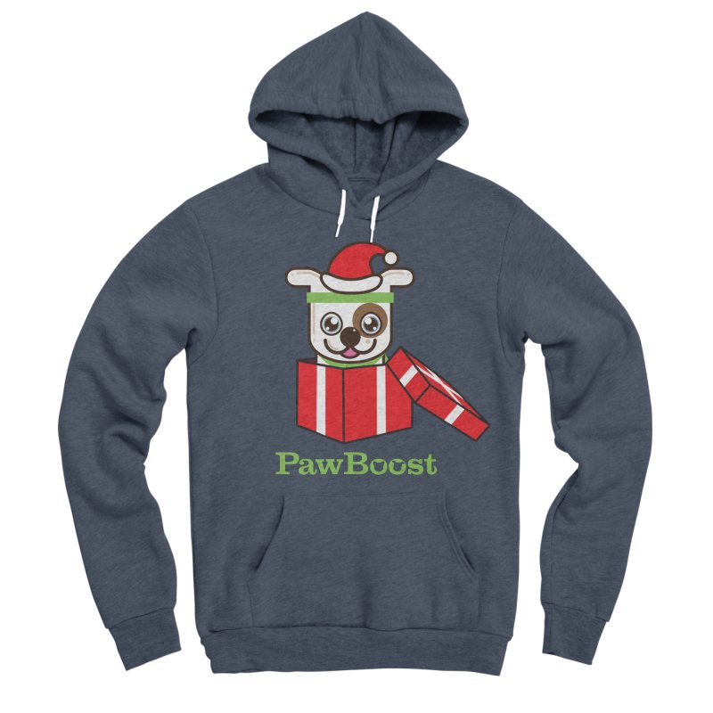 Happy Howlidays! (dog) Women's Sponge Fleece Pullover Hoody by PawBoost's Shop