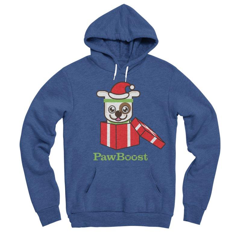Happy Howlidays! (dog) Women's Sponge Fleece Pullover Hoody by PawBoost's Shop