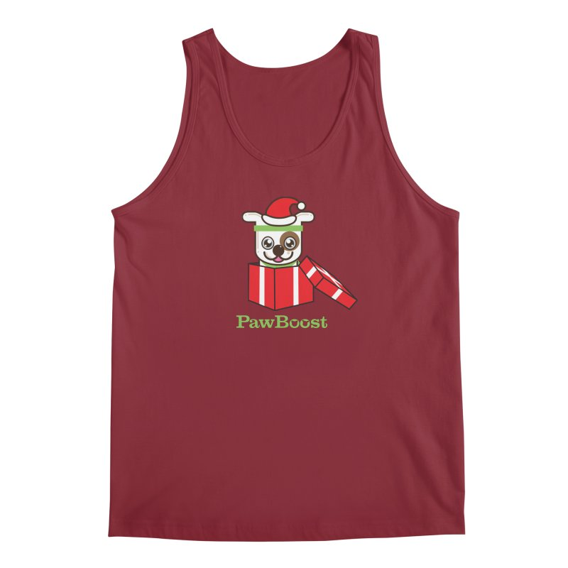 Happy Howlidays! (dog) Men's Regular Tank by PawBoost's Shop