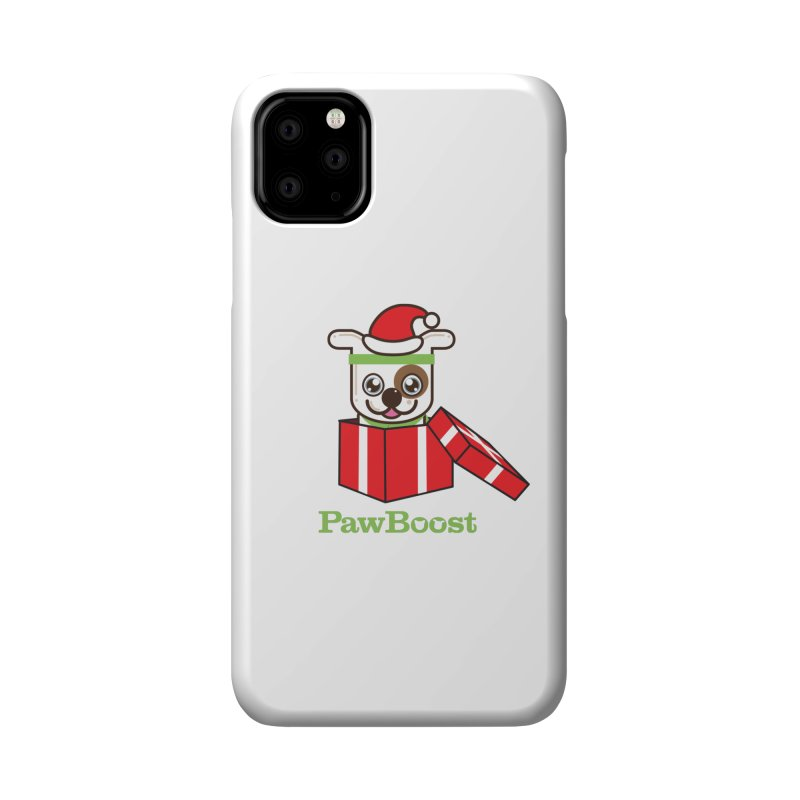 Happy Howlidays! (dog) Accessories Phone Case by PawBoost's Shop
