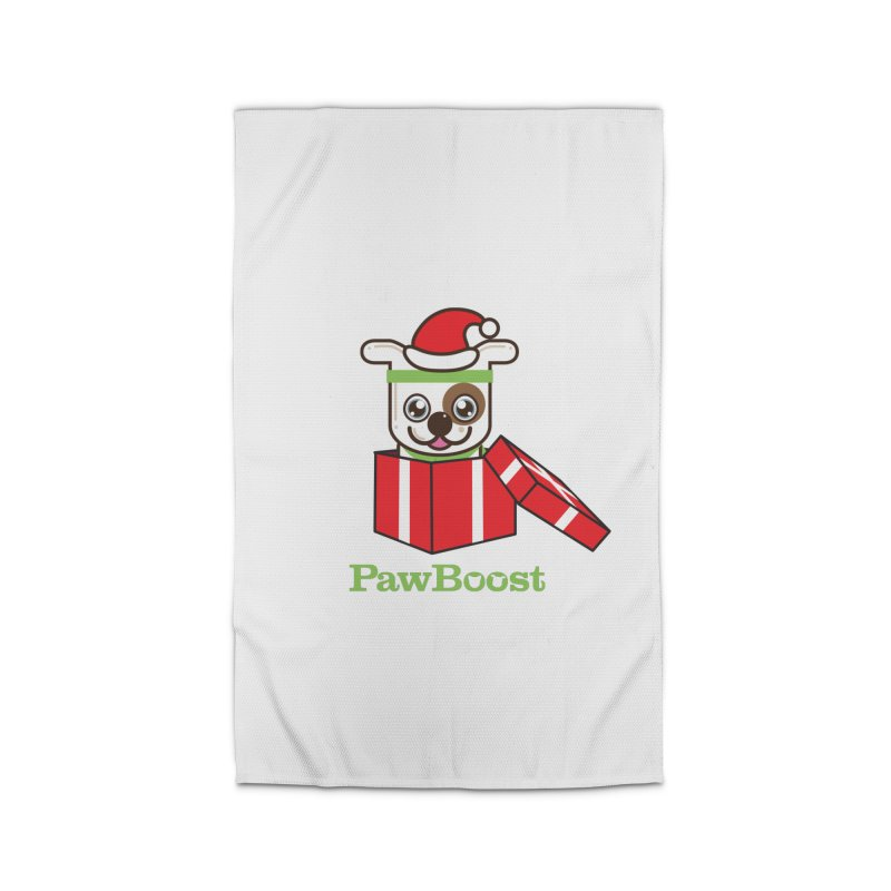 Happy Howlidays! (dog) Home Rug by PawBoost's Shop