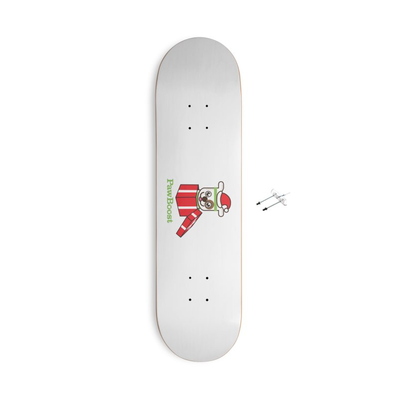 Happy Howlidays! (dog) Accessories With Hanging Hardware Skateboard by PawBoost's Shop