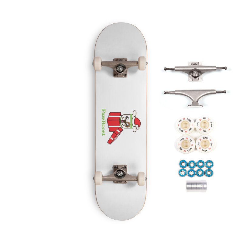 Happy Howlidays! (dog) Accessories Complete - Premium Skateboard by PawBoost's Shop