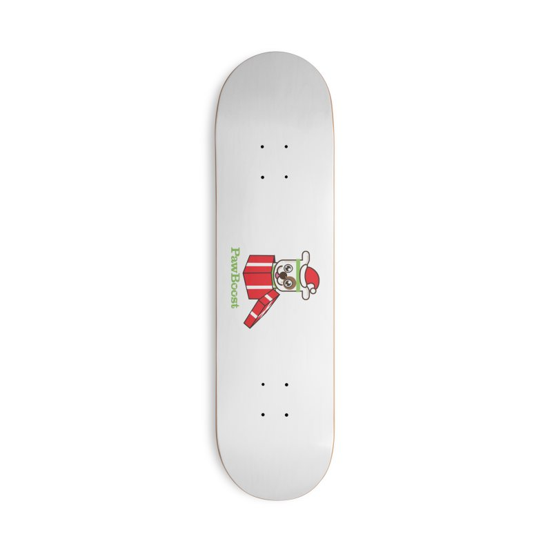Happy Howlidays! (dog) Accessories Deck Only Skateboard by PawBoost's Shop