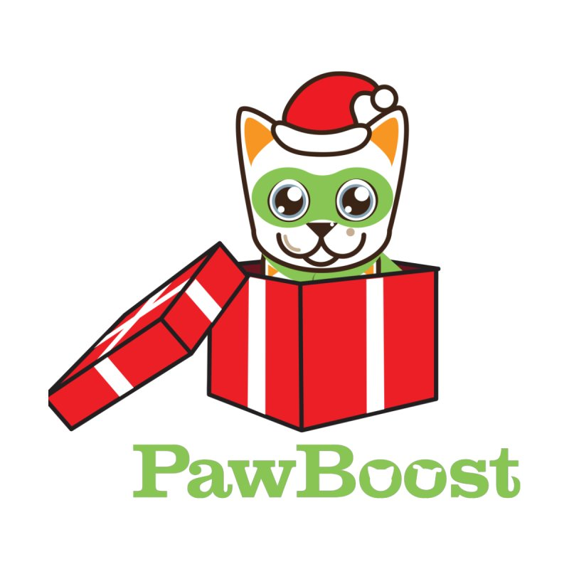 Meowy Christmas! (cat) Women's Scoop Neck by PawBoost's Shop
