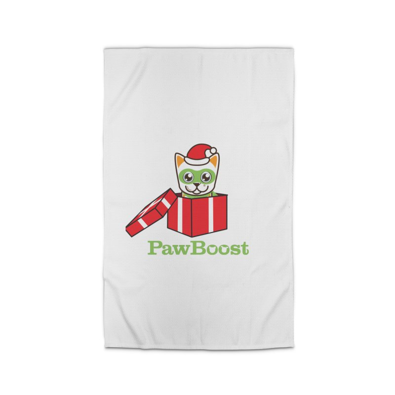 Meowy Christmas! (cat) Home Rug by PawBoost's Shop