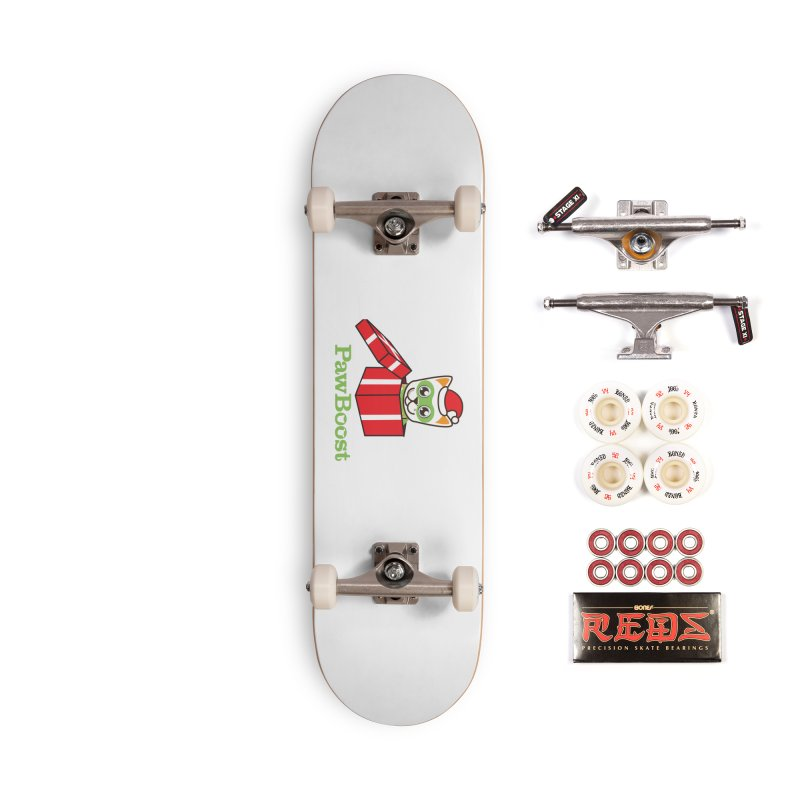 Meowy Christmas! (cat) Accessories Complete - Pro Skateboard by PawBoost's Shop