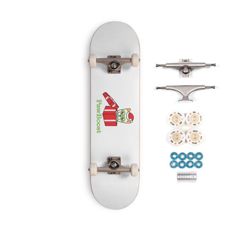 Meowy Christmas! (cat) Accessories Complete - Premium Skateboard by PawBoost's Shop