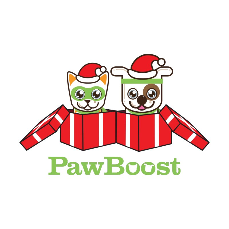Toby & Moby Presents Accessories Sticker by PawBoost's Shop