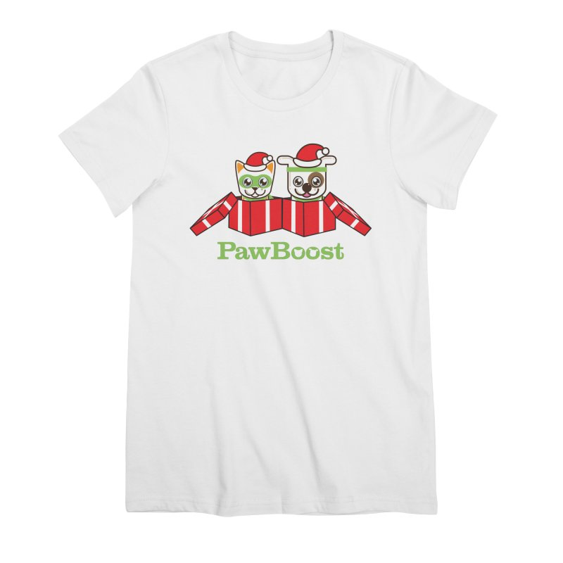 Toby & Moby Presents Women's Premium T-Shirt by PawBoost's Shop