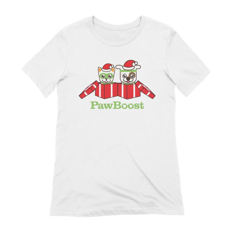 Toby & Moby Presents Women's Extra Soft T-Shirt by PawBoost's Shop