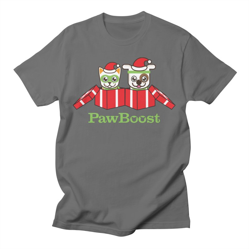 Toby & Moby Presents Men's T-Shirt by PawBoost's Shop